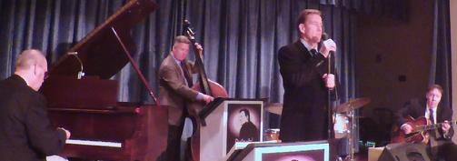 Rat Pack singer Frank Lamphere performing in Minnesota